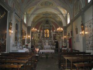 Immagine: Interno della chiesa