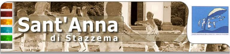 Testata della home page Di Sant'Anna di Stazzema